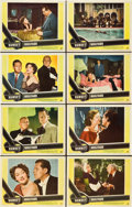 "Movie Posters:Film Noir, Sunset Boulevard (Paramount, 1950). Lobby Card Set of 8 (11"" X14"").. ... (Total: 8 Items)"