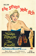 """Movie Posters:Comedy, The Seven Year Itch (20th Century Fox, 1955). One Sheet (27"""" X 41"""").. ..."""