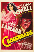 "Movie Posters:Mystery, Crossroads (MGM, 1942). One Sheet (27"" X 41"") Style D.. ..."