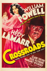 "Crossroads (MGM, 1942). One Sheet (27"" X 41"") Style D"