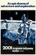 """Movie Posters:Science Fiction, 2001: A Space Odyssey (MGM, 1968). Cinerama One Sheet (27"""" X 41"""")Style A.. ..."""