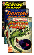Golden Age (1938-1955):War, Our Fighting Forces Group (DC, 1954-58) Condition: Average VG....(Total: 15 Comic Books)