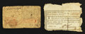 Colonial Notes:Mixed Colonies, Two Colonial Pieces. ... (Total: 2 notes)
