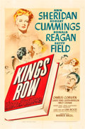 "Movie Posters:Drama, Kings Row (Warner Brothers, 1942). One Sheet (27"" X 41"").. ..."