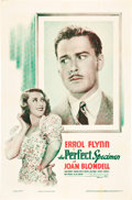 "Movie Posters:Comedy, The Perfect Specimen (Warner Brothers, 1937). One Sheet (27"" X41"").. ..."