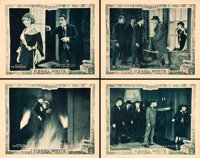 """Plunder (Pathé, 1923). Lobby Cards (4) (11"""" X 14""""). Chapter 1 - - """"The Bandaged Man"""", and Cha..."""