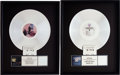 Music Memorabilia:Awards, Fleetwood Mac Tango in the Night and The GreatestHits RIAA Platinum Album Awards.... (Total: 2 )