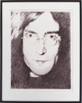 Music Memorabilia:Original Art, John Lennon Limited Edition Lithograph by Stanley Mouse, Signed andNumbered by Mouse....
