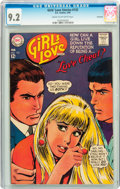 Silver Age (1956-1969):Romance, Girls' Love Stories #133 Savannah pedigree (DC, 1968) CGC NM- 9.2Cream to off-white pages....