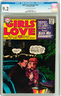 Silver Age (1956-1969):Romance, Girls' Love Stories #122 Savannah pedigree (DC, 1966) CGC NM- 9.2Off-white to white pages....