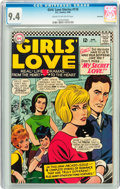 Silver Age (1956-1969):Romance, Girls' Love Stories #118 Savannah pedigree (DC, 1966) CGC NM 9.4Cream to off-white pages....