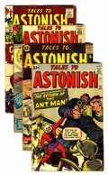 Golden Age (1938-1955):Horror, Tales to Astonish Group (Marvel, 1962-65).... (Total: 4 ComicBooks)
