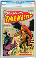Silver Age (1956-1969):Science Fiction, Rip Hunter Time Master #11 Savannah pedigree (DC, 1962) CGC NM- 9.2 Off-white pages....