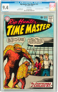 Silver Age (1956-1969):Science Fiction, Rip Hunter Time Master #15 Savannah pedigree (DC, 1963) CGC NM 9.4White pages....