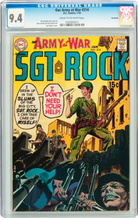 Our Army at War #214 Savannah pedigree (DC, 1970) CGC NM 9.4 Cream to off-white pages