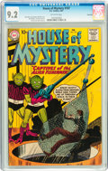 Silver Age (1956-1969):Horror, House of Mystery #107 Savannah pedigree (DC, 1961) CGC NM- 9.2Off-white pages....