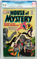 Silver Age (1956-1969):Mystery, House of Mystery #118 Savannah pedigree (DC, 1962) CGC NM+ 9.6White pages....
