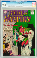 Silver Age (1956-1969):Mystery, House of Mystery #142 Savannah pedigree (DC, 1964) CGC NM 9.4 Whitepages....