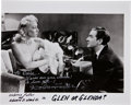 Movie/TV Memorabilia:Autographs and Signed Items, Dolores Fuller Signed Glen or Glenda? Photo, Inscribed toEdie Adams.... (Total: 2 )