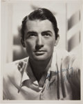 Movie/TV Memorabilia:Autographs and Signed Items, Gregory Peck Signed Photo....