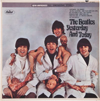 Beatles Yesterday and Today First State Butcher Cover Stereo LP (Capitol 2553, 1966)
