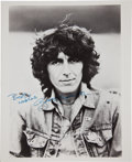 Music Memorabilia:Autographs and Signed Items, Beatles-Related - George Harrison Signed Photo....
