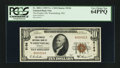 National Bank Notes:Missouri, Warrensburg, MO - $10 1929 Ty. 1 The Peoples NB Ch. # 5156. ...