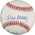 Baseball Collectibles:Balls, 300 Game Winners Multi Signed Baseball (8 Signatures). ...