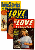 Golden Age (1938-1955):Romance, Love Lessons/Love Stories of Mary Worth File Copies Group (Harvey, 1949-50) Condition: Average VF.... (Total: 11 Comic Books)