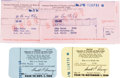 Movie/TV Memorabilia:Memorabilia, Two AFTRA Membership Cards, 1960s....