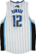 Basketball Collectibles:Uniforms, Dwight Howard Signed Jersey....