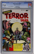 Golden Age (1938-1955):Horror, Beware Terror Tales #1 (Fawcett, 1952) CGC FN/VF 7.0 Cream tooff-white pages....