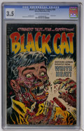 Golden Age (1938-1955):Horror, Black Cat Mystery #50 (Harvey, 1954) CGC VG- 3.5 Cream to off-whitepages....