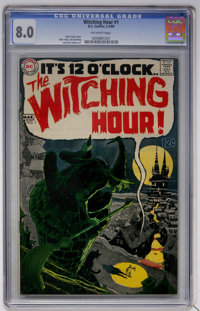 The Witching Hour #1 (DC, 1969) CGC VF 8.0 Off-white pages