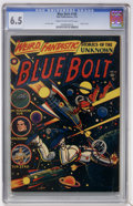 Golden Age (1938-1955):Science Fiction, Blue Bolt #108 (Star Publications, 1951) CGC FN+ 6.5 Cream to off-white pages....
