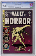 Golden Age (1938-1955):Horror, Vault of Horror #40 Gaines File pedigree (EC, 1954) CGC NM/MT 9.8Off-white pages....