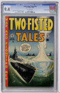 Golden Age (1938-1955):War, Two-Fisted Tales #32 Gaines File pedigree (EC, 1953) CGC NM 9.4 Off-white pages....