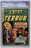 Golden Age (1938-1955):Horror, Crypt of Terror #17 Gaines File pedigree (EC, 1950) CGC NM+ 9.6Off-white pages....