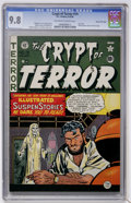 Golden Age (1938-1955):Horror, Crypt of Terror #19 Gaines File pedigree (EC, 1950) CGC NM/MT 9.8Off-white to white pages....