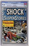 Golden Age (1938-1955):Horror, Shock SuspenStories #3 Gaines File pedigree (EC, 1952) CGC NM+ 9.6Off-white pages....