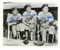 """Autographs:Photos, Duke Snider, Andy Pafko, Carl Furillo Signed Photograph BrooklynDodgers. Very nice black and white 8x10"""" photograph of thr..."""