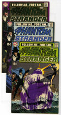Bronze Age (1970-1979):Horror, The Phantom Stranger #5-41 Group (DC, 1970-76) Condition: AverageVG/FN.... (Total: 38 Comic Books)
