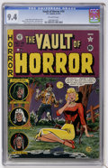 Golden Age (1938-1955):Horror, Vault of Horror #19 Gaines File pedigree (EC, 1951) CGC NM 9.4Off-white pages....