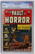 Golden Age (1938-1955):Horror, Vault of Horror #31 Gaines File pedigree (EC, 1953) CGC NM+ 9.6Off-white to white pages....