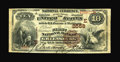 National Bank Notes:Pennsylvania, Greensburg, PA - $10 1882 Brown Back Fr. 490 The First NB Ch. #(E)2558. ...