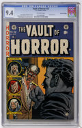 Golden Age (1938-1955):Horror, Vault of Horror #32 Gaines File pedigree (EC, 1953) CGC NM 9.4Off-white pages....