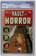 Golden Age (1938-1955):Horror, Vault of Horror #33 Gaines File pedigree (EC, 1953) CGC NM/MT 9.8White pages....