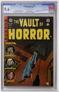 Golden Age (1938-1955):Horror, Vault of Horror #37 Gaines File pedigree (EC, 1954) CGC NM+ 9.6Off-white to white pages....