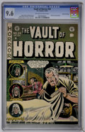 Golden Age (1938-1955):Horror, Vault of Horror #24 Gaines File pedigree (EC, 1952) CGC NM+ 9.6Off-white to white pages....