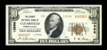 National Bank Notes:Pennsylvania, Clearfield, PA - $10 1929 Ty. 2 The County NB Ch. # 13998. ...